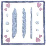 Sil.formička - vlnená bordúra - Karen Davies