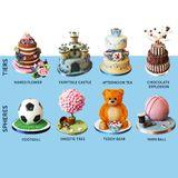 Sada na 3D torty na stonke