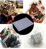 Forma na výrobu čokoládovej chalúpky