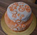 Funcakes - farebný fondant ORANGE - 250 g