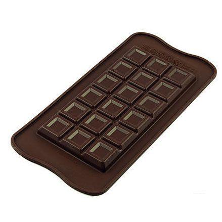 silik. formička - klasická čokoláda
