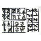 Abeceda patchwork (veľká) - VO BAL. 3 ks