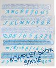 abeceda ŠIKMÉ - KOMPLET SADA