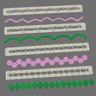 Bordúrové lišty so vzorom FMM - set č. 5