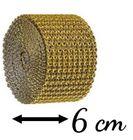 Diamantový pás 5 cm / 3 M - ZLATÝ