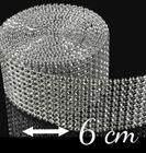 Diamantový pás 5 cm / 3M STRIEBORNÝ