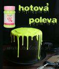 Dip and Drip - hotová STEKAJÚCA POLEVA - SLIME GREEN