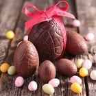 Forma na čokoládové vajíčka - STREDNÉ