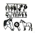 Kôň a podobné.motívy - VO BAL. 3 ks