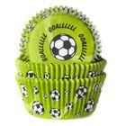 Cupcake košíčky FUTBALOVE - ZELENÉ