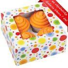 Krabice na 4 cupcakes CIRCLES - VO BAL. 3 sady