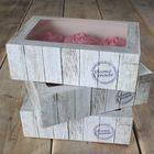 Krabice na muffiny HOME MADE - VO balenie ( 9 ks)