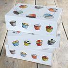 Krabice na muffiny - VO BALENIE ( 9 ks)