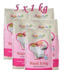 Kráľovská glazúra 1kg - ROYAL ICING - 5 x 1kg balení