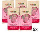 Kráľovská glazúra ROYAL ICING - 5 x 900 g balenie