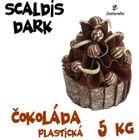 Scaldis DARK 5 kg - plastická čoko poleva TMAVÁ