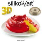 Silikomart 3D design - Srdiečková bábovka