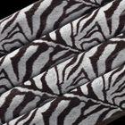 Zebra - chocotransfer 40x25cm