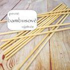 Bambusové výstuže dlhé - 30 cm