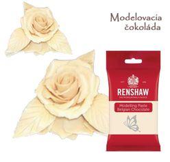 Belgická čokoláda - modelovacia - biela