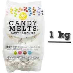 CANDY MELTS - EXTRA BIELA - 1 KG BALENIE