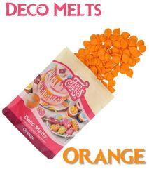 Funcakes DECO MELTS - oranžová čokoláda