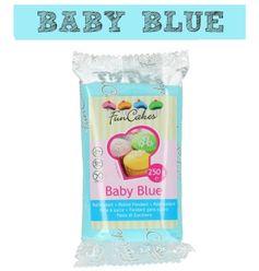 Funcakes - farebný fondant - BABY modrá 250 g