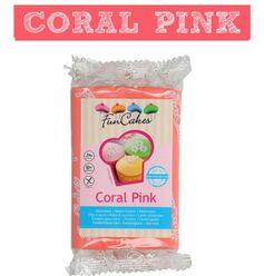 Funcakes - farebný fondant - Coral Pink 250 g