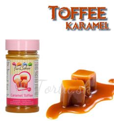 FunCakes príchuť - KARAMEL TOFFEE