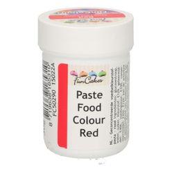 Gelová farba FunCakes - červená RED