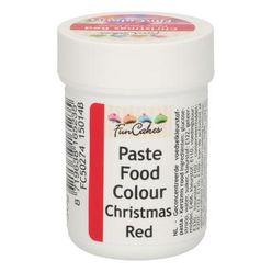 Gelová farba FunCakes - Christmas Red