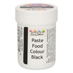 Gelová farba FunCakes - Čierna BLACK