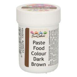 Gelová farba FunCakes - Dark Brown