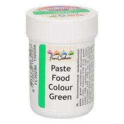 Gelová farba FunCakes - Zelená - Green