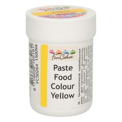 Gelová farba FunCakes - Žltá - Yellow
