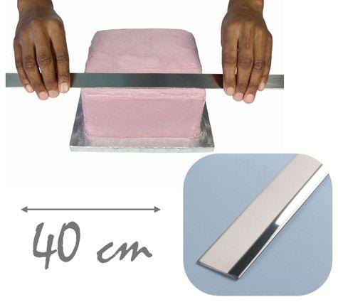 Hladítko na krémy - extra veľké 40 cm