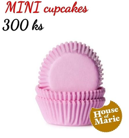 HoM MINI cupcakes - PINK - VO 5 balení