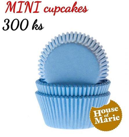 HoM MINI cupcakes - SKY BLUE - VO 5 balení