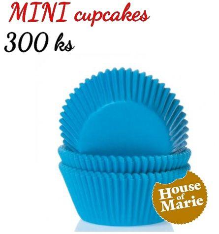 HoM MINI cupcakes - sýta modrá - VO 5 balení