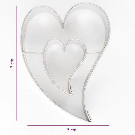 kovová vykrajovačka - srdce v srdci
