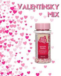LOVE - zamilovaný cukrový posyp - mini balenie