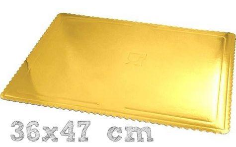 MAXI podložka 36x47 cm ZLATÁ - (3 ks v bal.)