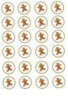 Medovníkový panáčik na medovníčky / koláčiky