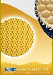 Odtlačok 30 x 15 cm - textúra včelí plast