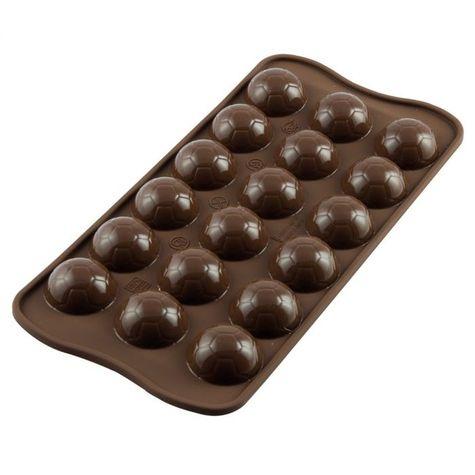 silik. formička Choco Goal - Futbalové lopty (pralinky)