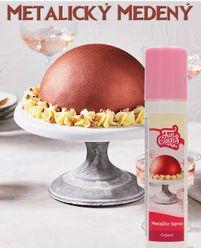 Sprejová farba Funcakes - COPPER (medená)
