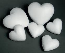 Srdiečko polystyrénové - 10 cm