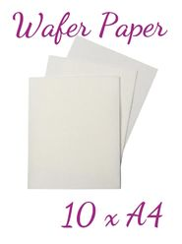 Wafer Paper - na tvorbu kvetov a dekoráci - 10 x A4